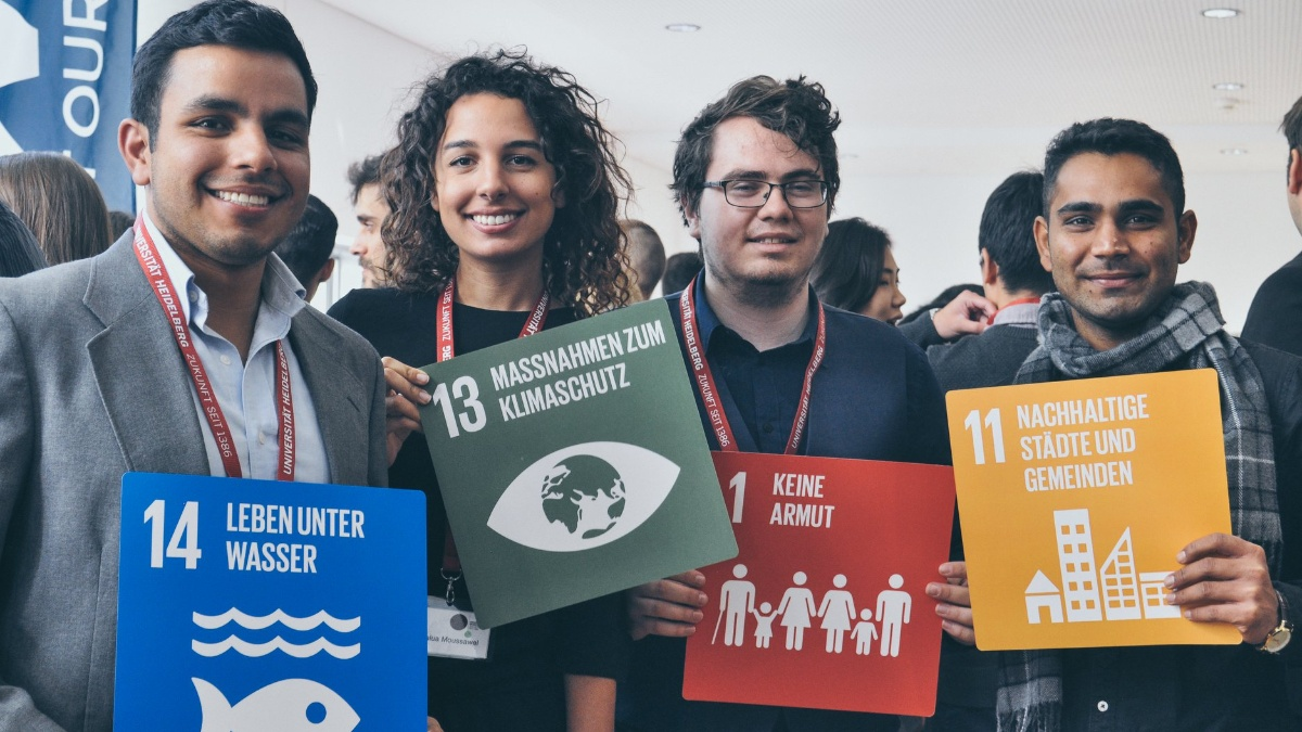 Students at Sustainability Conference