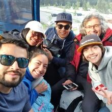 M.Sc. WASTE Students - Zugspitze excursion