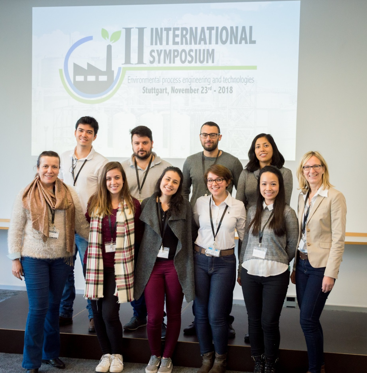 Students of Double Degree at II M.Sc. WASTE International Symposium (c) Jeramiah Backman Photography