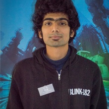 This picture showsAbhishek ALAHAM