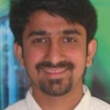 This picture showsAjay Ramesh  Bidwe