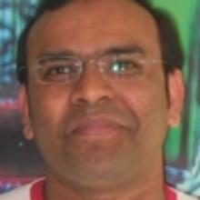 This picture showsAsrar Ahmad  Sheikh