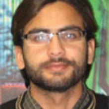 This picture showsHafiz Muhammad Farrukh  SAEED